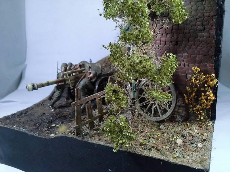 Tracteur Russe ChTZ S-65 [ TRUMPETER ] + Canon + Soldats [ MINI ART ] dans la boue de RUSSIE. 13245332_10208942181529320_1599791545816520130_n_zpsqifkhkyh
