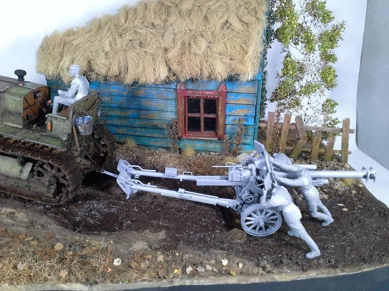 Tracteur Russe ChTZ S-65 [ TRUMPETER ] + Canon + Soldats [ MINI ART ] dans la boue de RUSSIE. 20160505_2100121_zps2ag9blcw