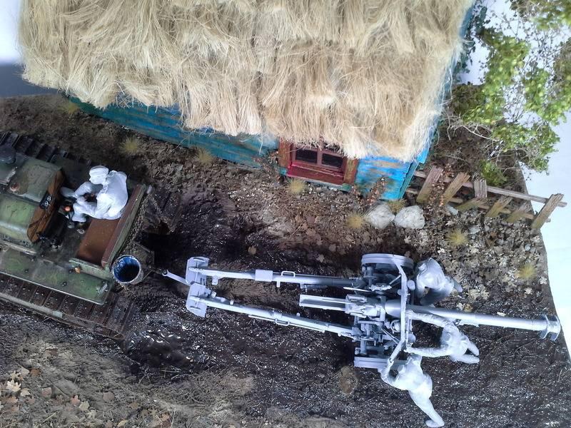 Tracteur Russe ChTZ S-65 [ TRUMPETER ] + Canon + Soldats [ MINI ART ] dans la boue de RUSSIE. 20160505_2100201_zps4qfstcxa