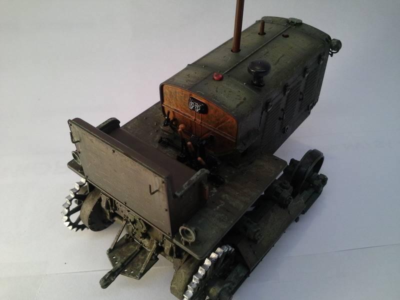 Tracteur Russe ChTZ S-65 [ TRUMPETER ] + Canon + Soldats [ MINI ART ] dans la boue de RUSSIE. 20160413_1920481_zpscai2lqoz