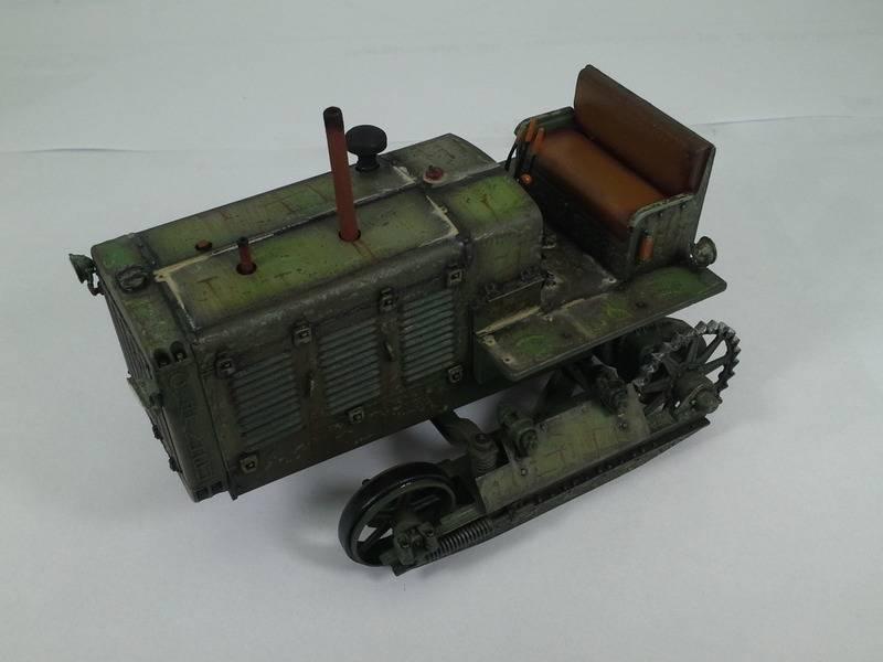 Tracteur Russe ChTZ S-65 [ TRUMPETER ] + Canon + Soldats [ MINI ART ] dans la boue de RUSSIE. 20160415_1655261_zpsblhoz1wc