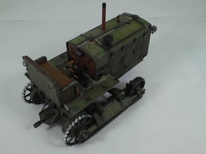Tracteur Russe ChTZ S-65 [ TRUMPETER ] + Canon + Soldats [ MINI ART ] dans la boue de RUSSIE. 20160415_1656101_zpszsbwo1mh