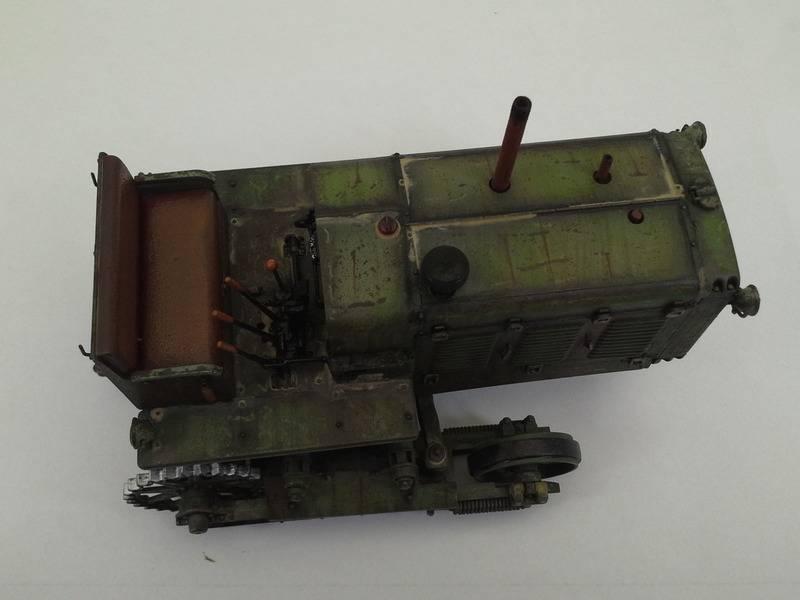 Tracteur Russe ChTZ S-65 [ TRUMPETER ] + Canon + Soldats [ MINI ART ] dans la boue de RUSSIE. 20160415_1656401_zpszxa3yvfm
