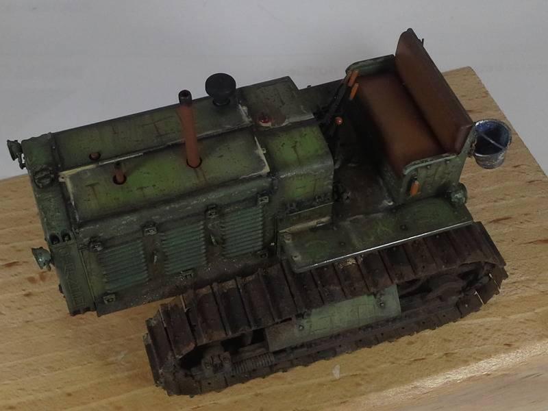 Tracteur Russe ChTZ S-65 [ TRUMPETER ] + Canon + Soldats [ MINI ART ] dans la boue de RUSSIE. 20160417_2002421_zpsksughhqa