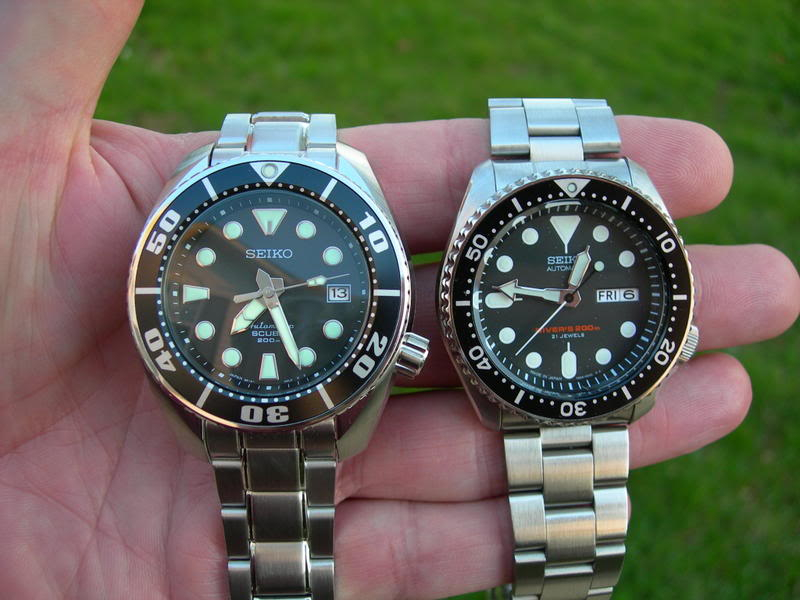 Comparison shots of Seiko divers 2007-04-13-07-22-50-1
