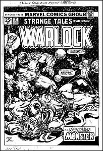 ADAM WARLOCK StrangeTales
