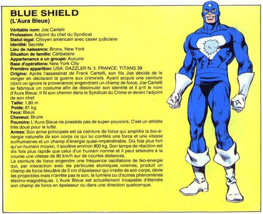 L' Aura Bleue ( Blue Shield ) Blueshield