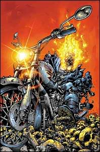 LE CAVALIER FANTOME ( Ghost  Rider ) Ghost-rider