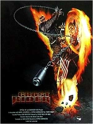 LE CAVALIER FANTOME ( Ghost  Rider ) Ghostriderposter