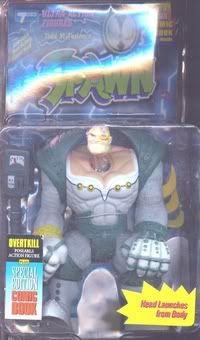 Spawn Action Figure Serie 1 Overtkillrepaintlightningcard