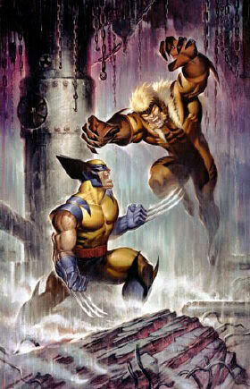 DENTS DE SABRE ( Sabretooth ) Wolverine20vs20Sabretooth20JC