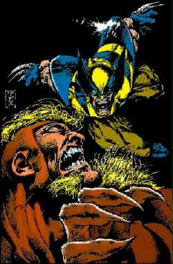 DENTS DE SABRE ( Sabretooth ) Wolverine20vs20Sabretooth20MT