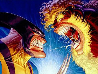 DENTS DE SABRE ( Sabretooth ) Wolverine20vs20Sabretooth20TH