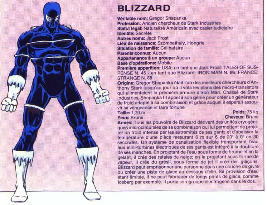 Blizzard I Blizzard