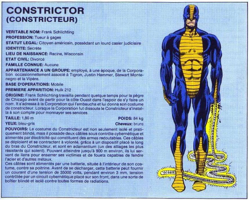 Constristor Constrictor