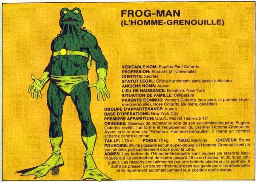 Frog-Man Frog-man
