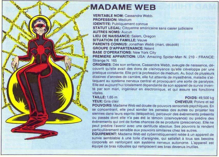 MADAME WEB Madameweb