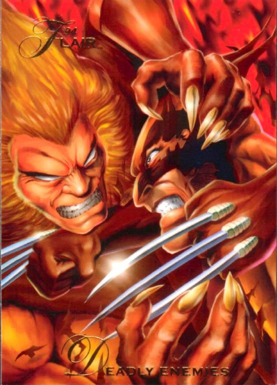 DENTS DE SABRE ( Sabretooth ) Wolverine136