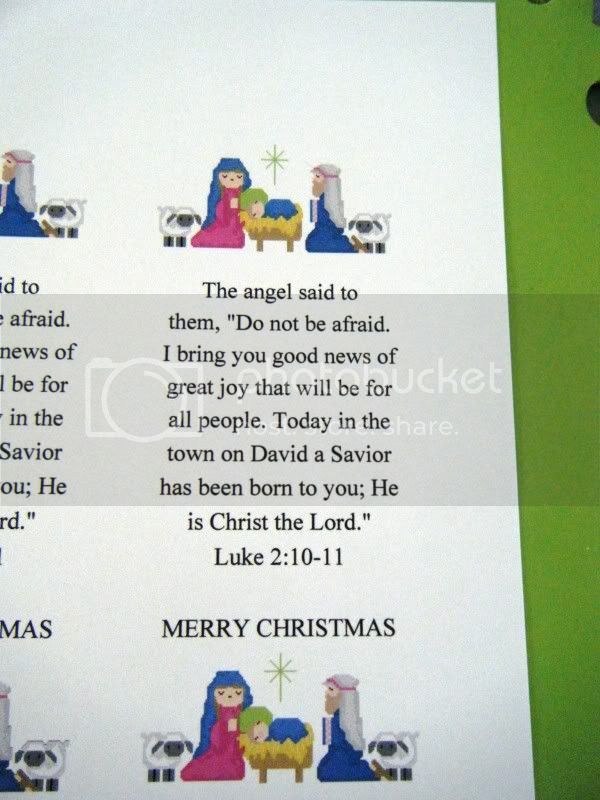 Advent Baskets --- Project for August - Page 2 Nativitybookmark