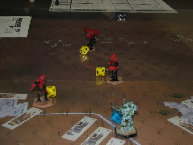 Escuela de calor- partida de Battletech en el Club Dragón IMG_7696