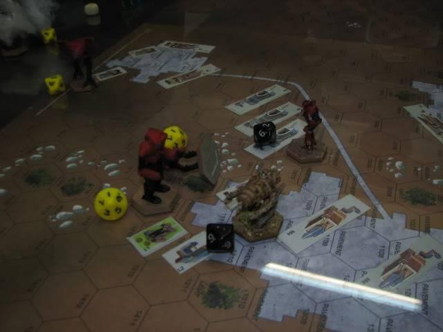Escuela de calor- partida de Battletech en el Club Dragón IMG_7709