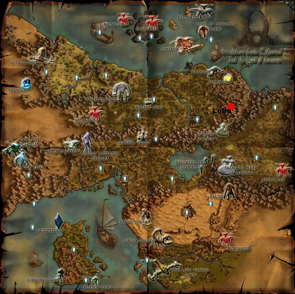 Los mapas más grandes de los videojuegos Sacred-2-boss-map