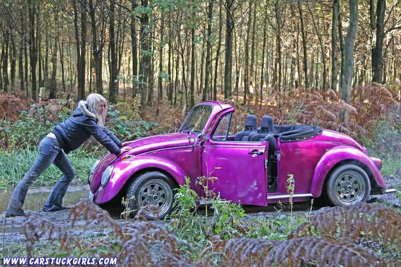 the new car stuck girl Speedster_stuck_019