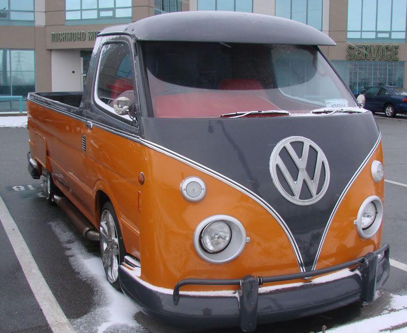 Pumpkin single cab Front
