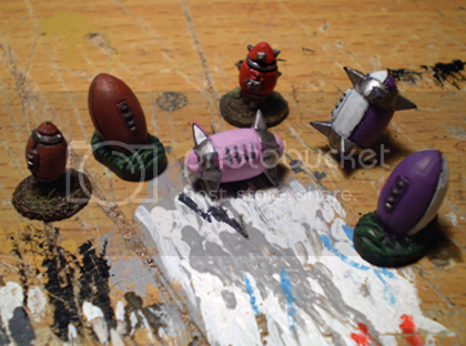 Foot's Bloodbowlers Balls