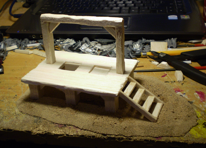 Foots Terrain and other bits Gallows