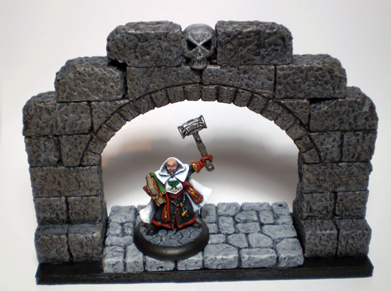 Warhammer Quest stuff Door1