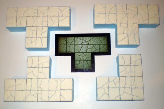 Warhammer Quest stuff T-junctions