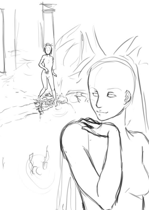 Eure Skizzen/Zeichnung! Bathing