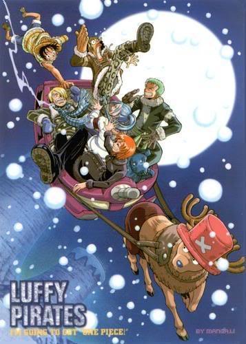 FELIZ NAVIDAD Christmas_OnePiece