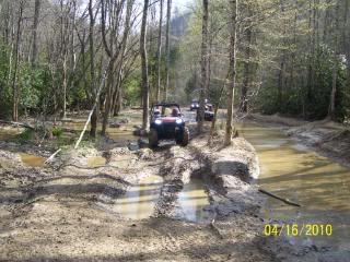Riding Boyer Woods in Putnam County on 04/15/2012 100_3525