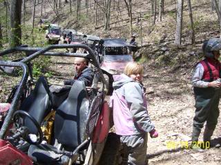 Riding Boyer Woods in Putnam County on 04/15/2012 100_3554