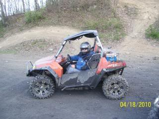 Riding Boyer Woods in Putnam County on 04/15/2012 100_3572