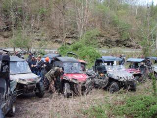 Anyone rode around birch river area? 2010WVSXSRIDERSSpringRide119