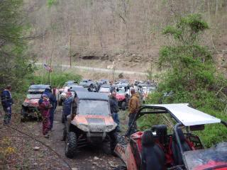 Sat/Sunday ride from crab orchard 2010WVSXSRIDERSSpringRide121