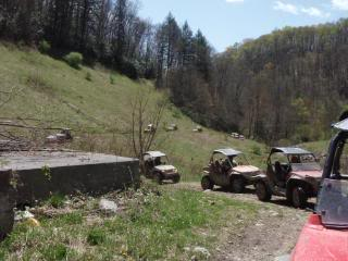 Riding Boyer Woods in Putnam County on 04/15/2012 2010WVSXSRIDERSSpringRide159