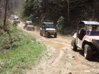 Riding near coal river mountain 2010WVSXSRIDERSSpringRide195