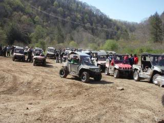 Sat/Sunday ride from crab orchard 2010WVSXSRIDERSSpringRide221