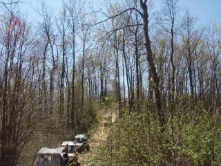 Riding Boyer Woods in Putnam County on 04/15/2012 2010WVSXSRIDERSSpringRide253