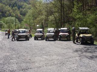 Riding near coal river mountain 2010WVSXSRIDERSSpringRide280