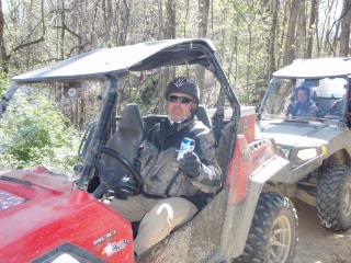 Riding Boyer Woods in Putnam County on 04/15/2012 2010WVSXSRIDERSSpringRide293