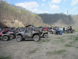 Riding Boyer Woods in Putnam County on 04/15/2012 SpringRider10007