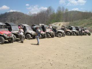 Riding Boyer Woods in Putnam County on 04/15/2012 SpringRider10010