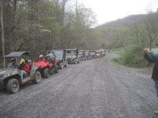Campbell's creek ride Saturday 4/14 SpringRider10030
