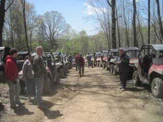 Camp Creek to Noseman branch ride pics SpringRider10055