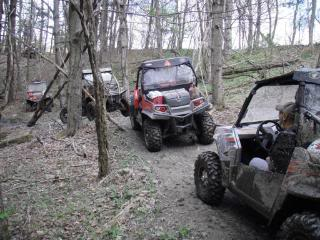 Riding Boyer Woods in Putnam County on 04/15/2012 Springride2010021